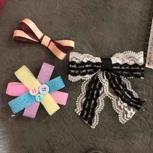 Accessories - Hand made hair bow clips